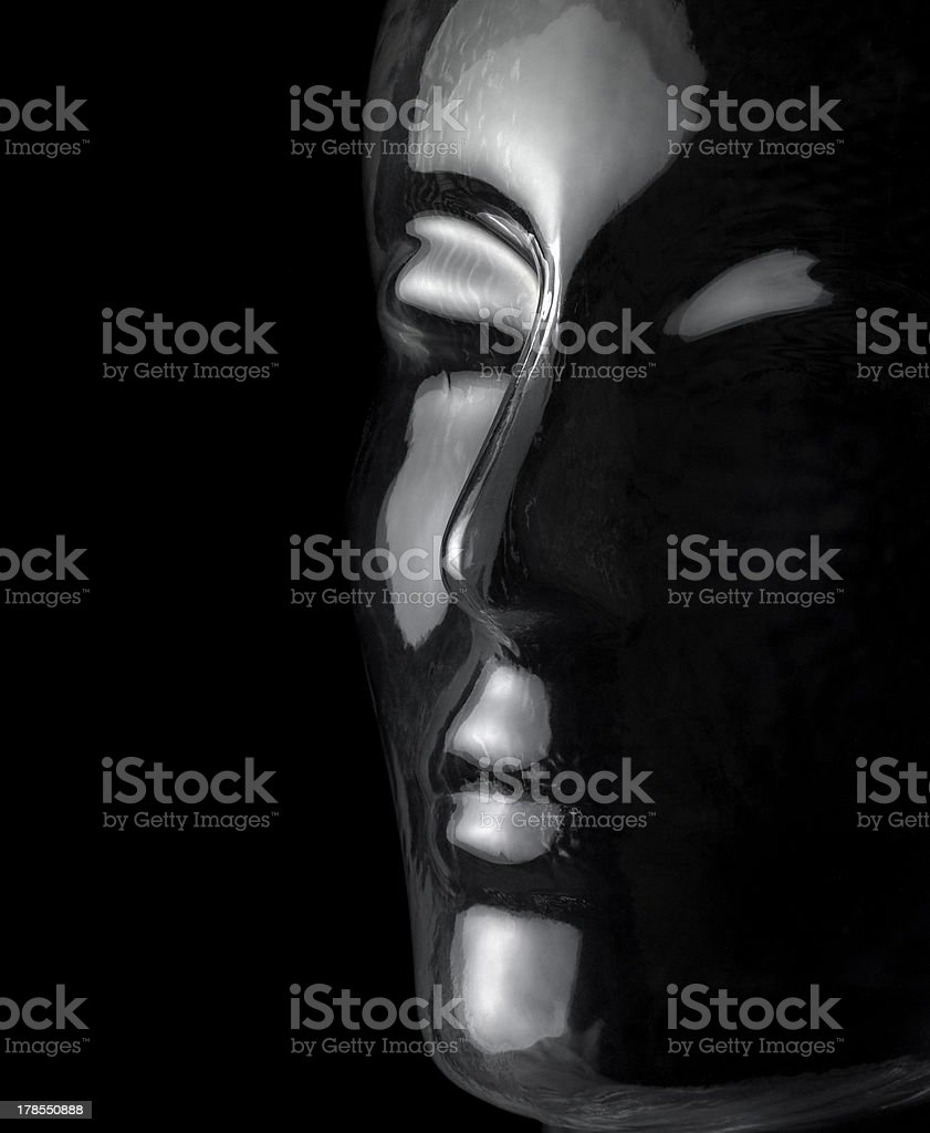 glass head royalty-free stock photo