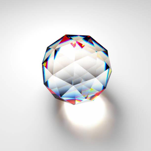 glas icosphere - veelvlakkig stockfoto's en -beelden