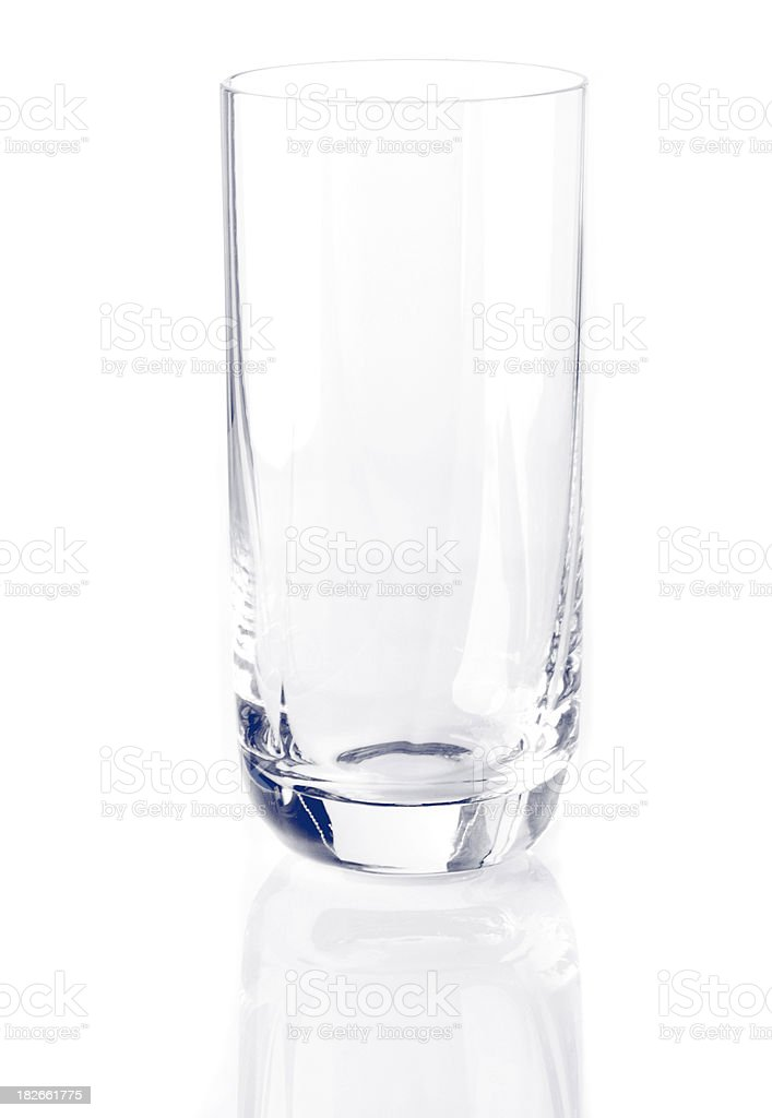 Glass isolated royalty-free stock photo