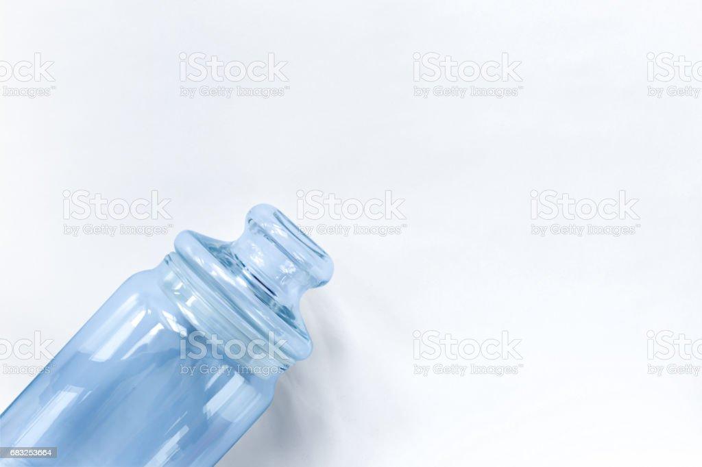 Glass jar 免版稅 stock photo