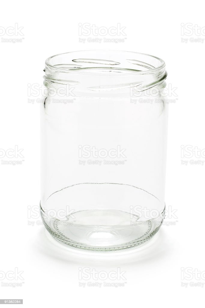 Glass Jar royalty-free stock photo