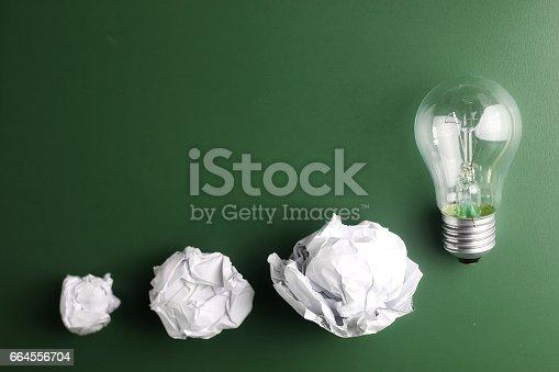 istock glass lamp crumpled paper 664556704