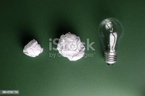 istock glass lamp crumpled paper 664556730