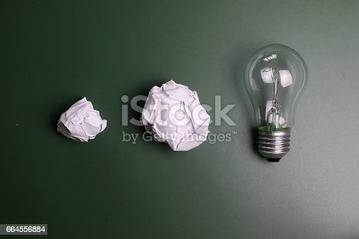 istock glass lamp crumpled paper 664556884