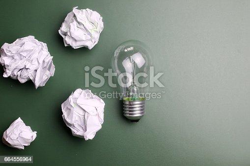 istock glass lamp crumpled paper 664556964