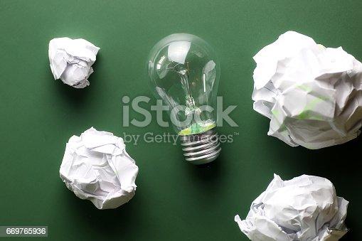 istock glass lamp crumpled paper 669765936