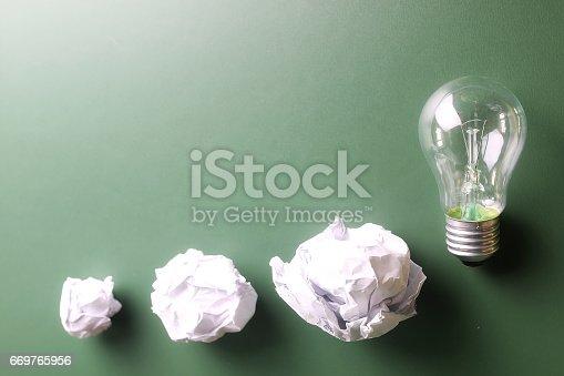 istock glass lamp crumpled paper 669765956