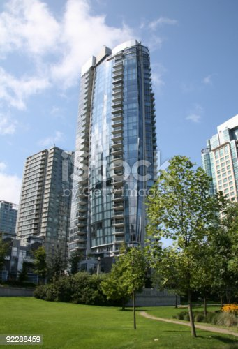istock Glass Living Highrise in Vancouver, Canada 92288459