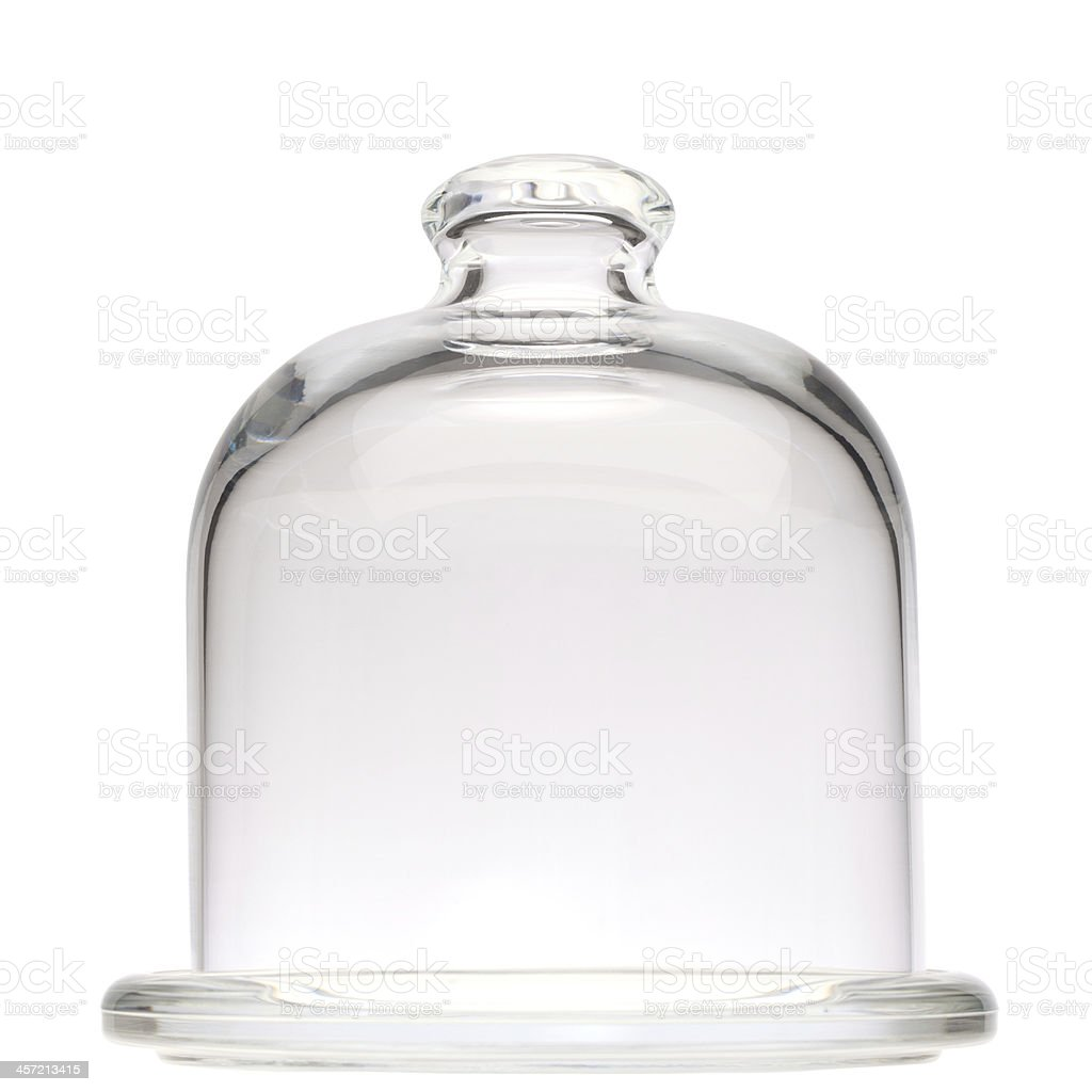 Glass mini dome stock photo
