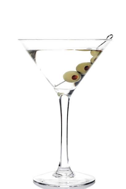 Verre d'un cocktail martini - Photo