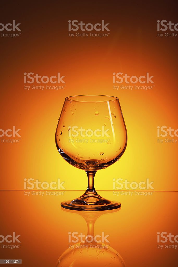 glass of alcohol royalty-free stock photo