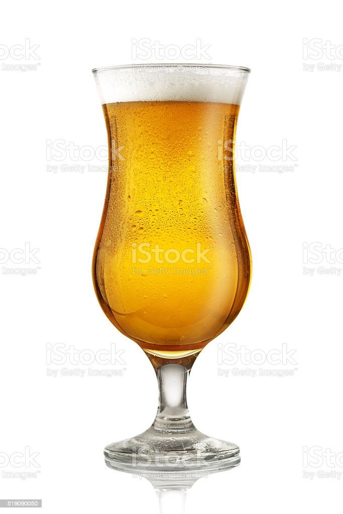 Glass of beer​​​ foto