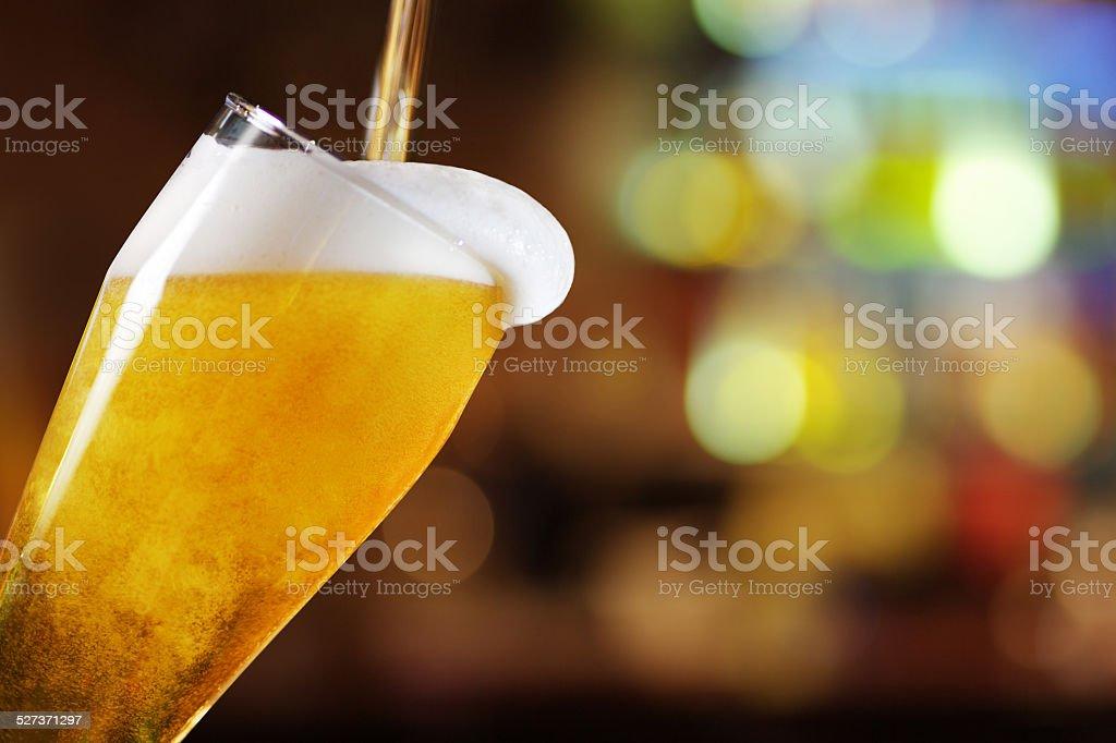 유리컵 맥주 - 로열티 프리 0명 스톡 사진
