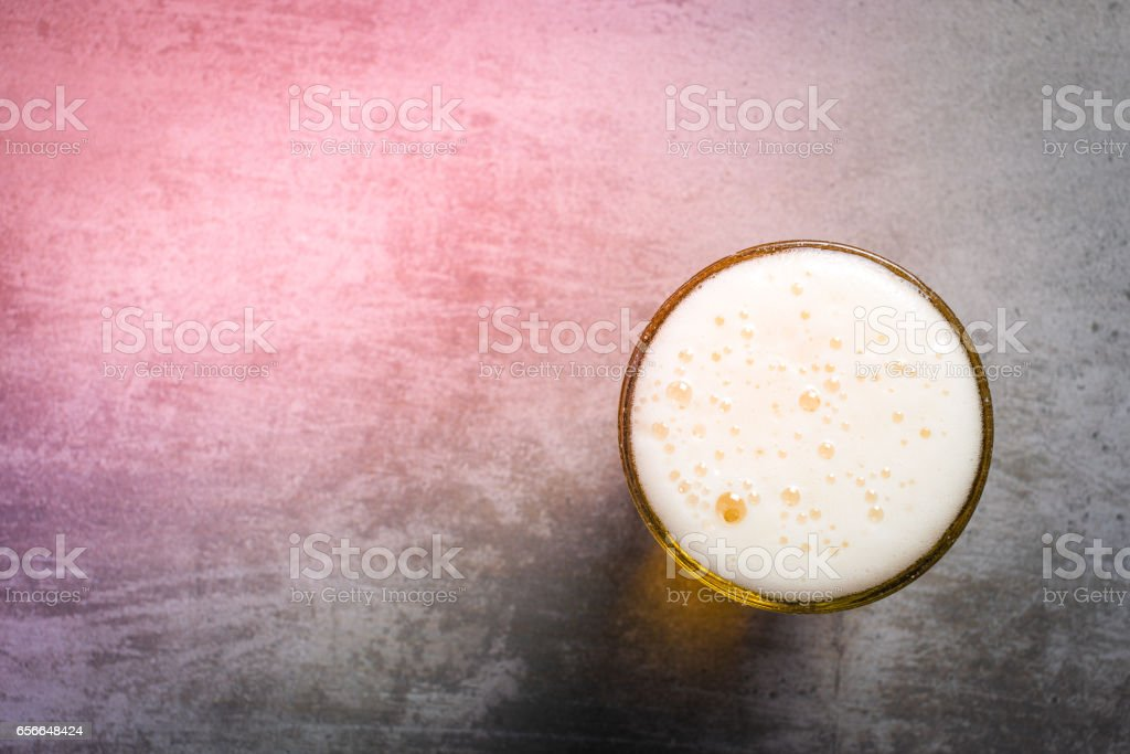 Glass of beer - foto de acervo