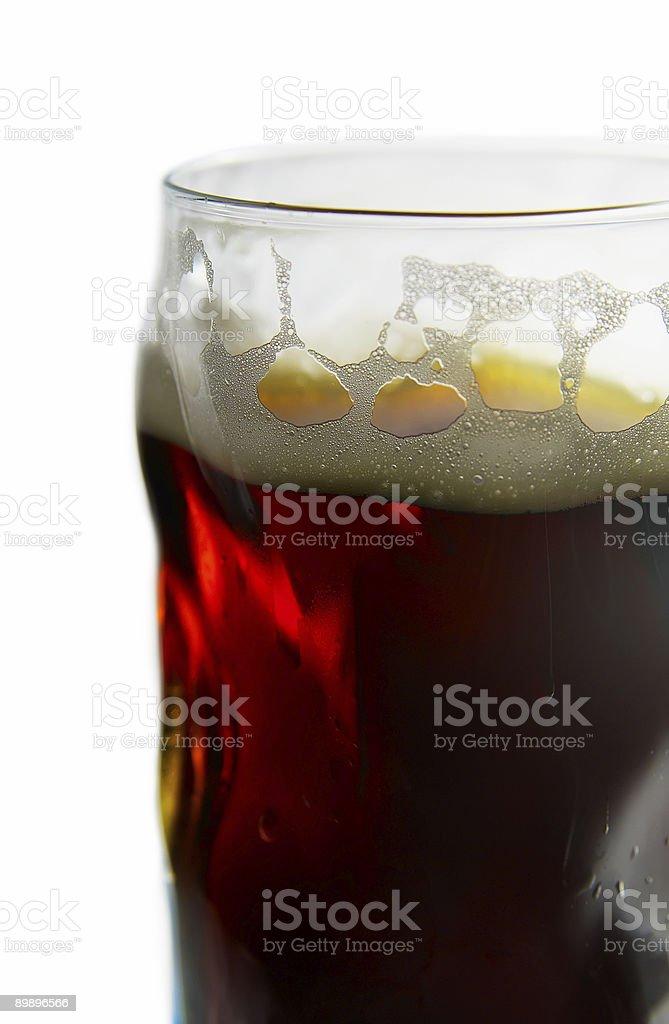 Glas Bier Lizenzfreies stock-foto