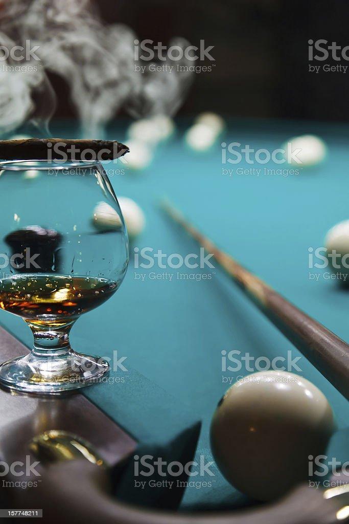 glass of brandy royalty-free stock photo