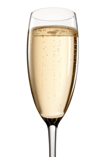 Glass Of Champagne Stock Photo - Download Image Now