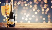 istock Glass of champagne wine. Alcohol drink 1196516185