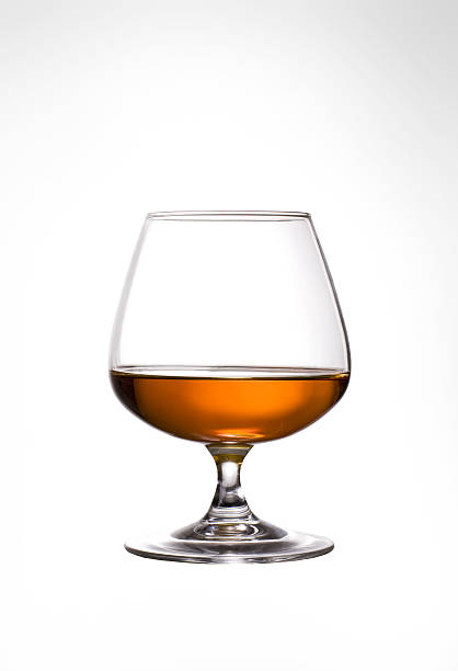 Glass of Cognac  brandy stock pictures, royalty-free photos & images