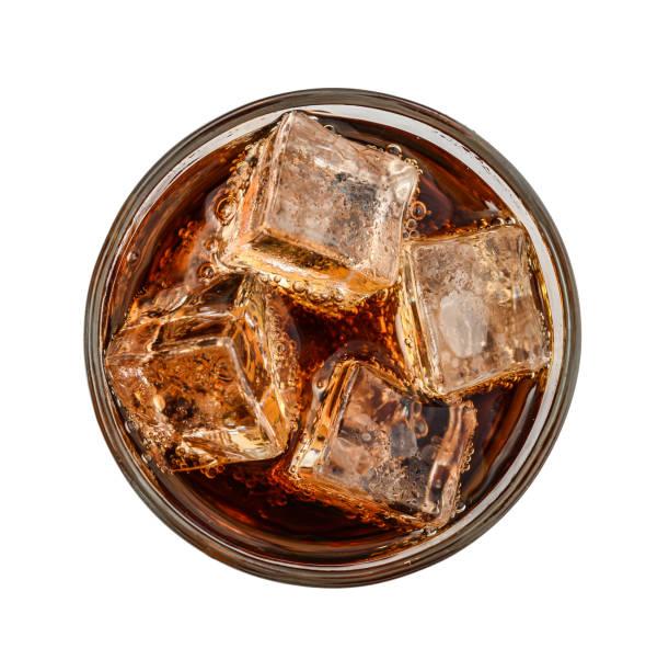 Glas Cola-Getränk – Foto