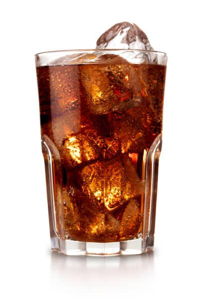 glas cola - cola stockfoto's en -beelden
