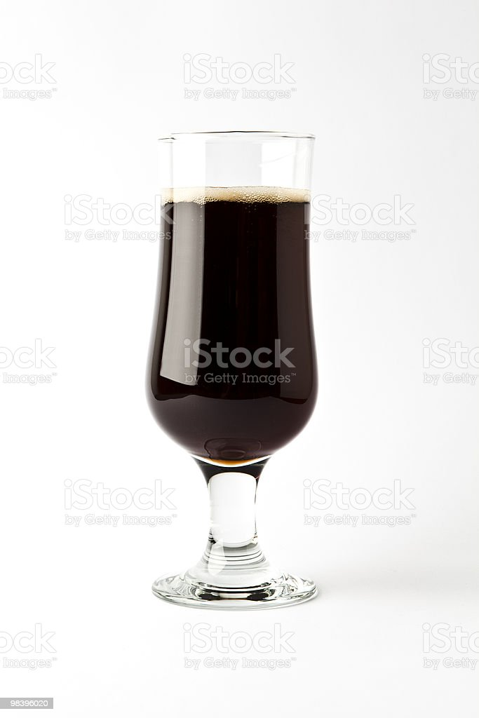 Glass of Cola royalty-free stock photo