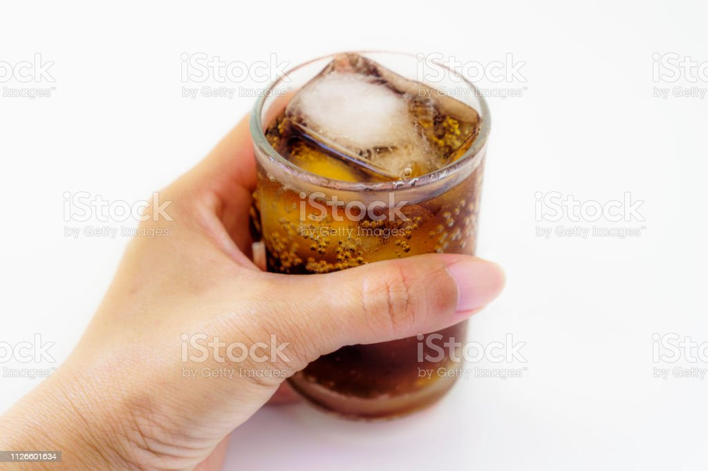 Drink, Drinking Glass, Isolated, Bubble, Ice Cube, Thailand, Soda,...