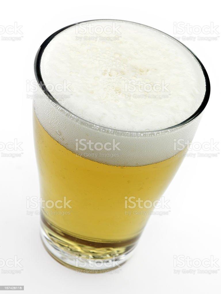 Glas kaltes Bier – Foto
