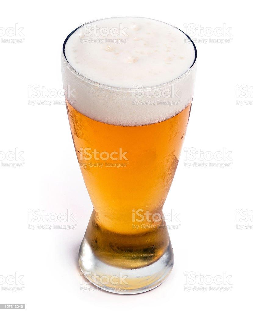 Kühles Glas Bier vom Fass pilsen – Foto
