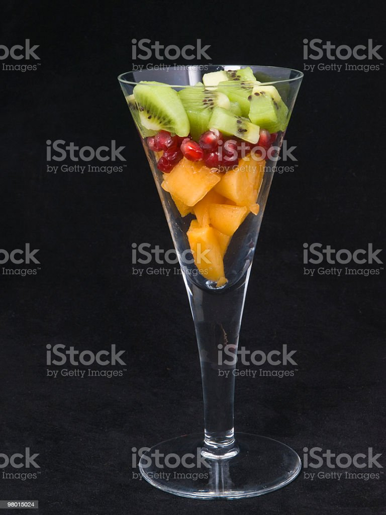 Glass of fruit royalty-free stock photo