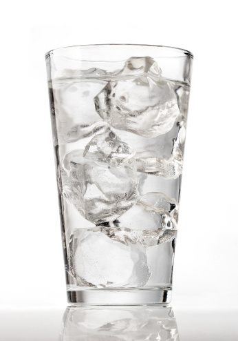 Glass Of Ice Water Stock Photo - Download Image Now - iStock