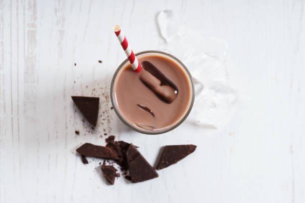 Glas Eisschokolade – Foto