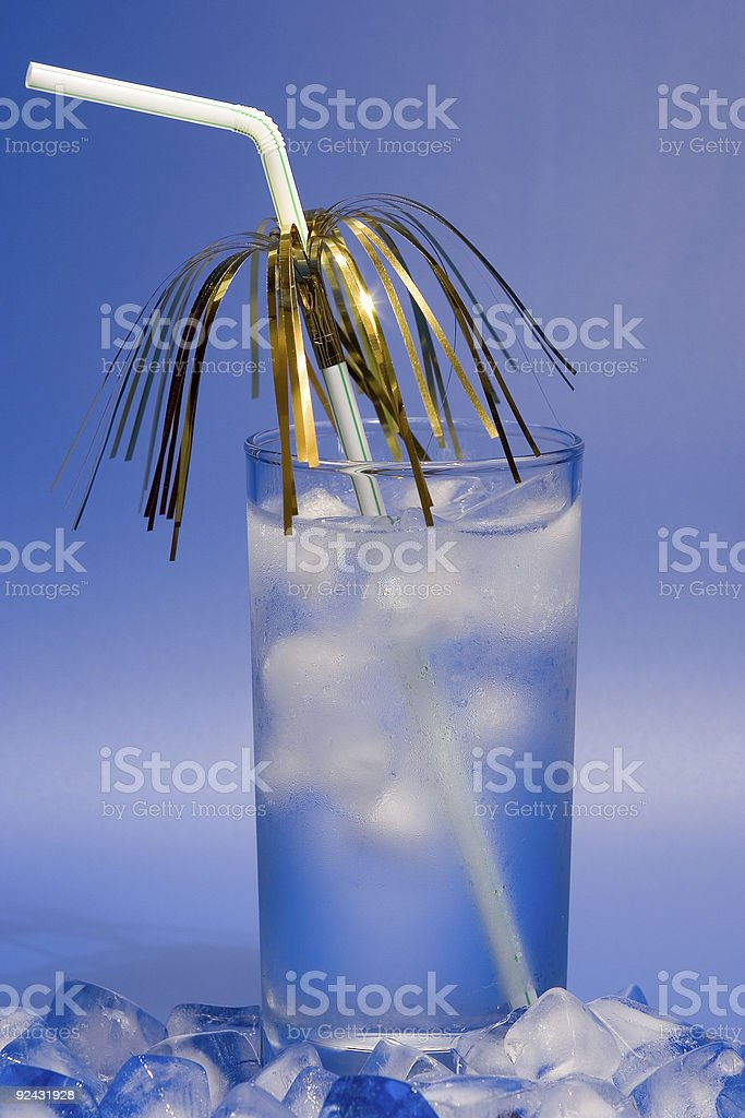 glass of icewater royalty-free stock photo