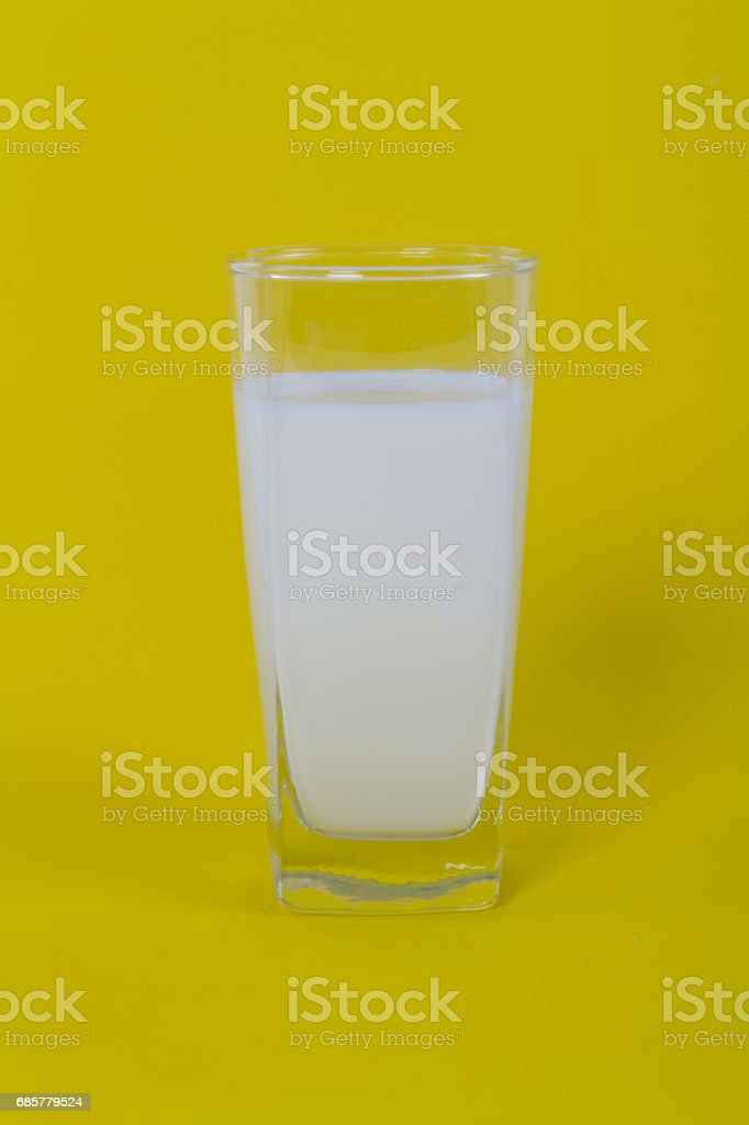 Glass of milk royalty-free stock photo