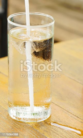 Carbonated, Water, Ice, Soda, Bubble