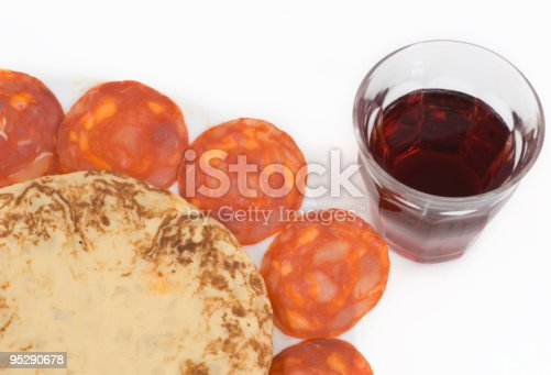 508216406 istock photo glass of red wine and spanish tapas 2 95290678