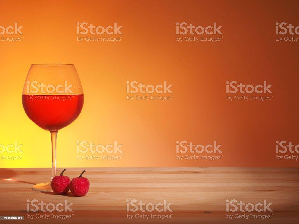 Glass of Red Wine photo libre de droits