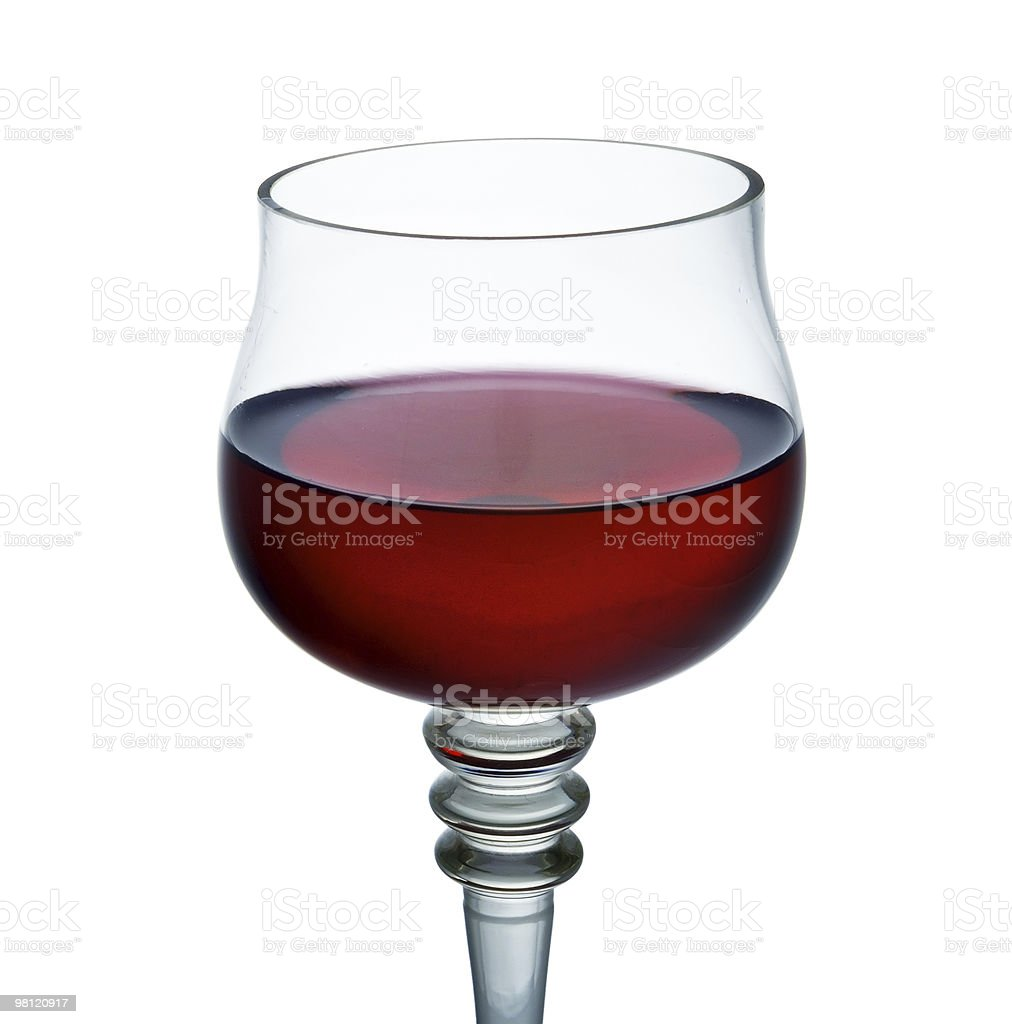 Glass Of Red Wine royalty-free stock photo
