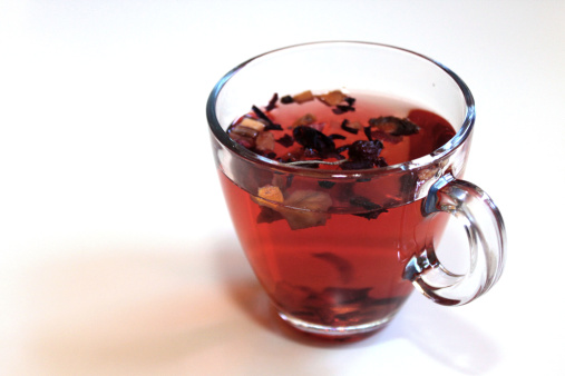 istock Glass of tea in dried rosehip 479627527