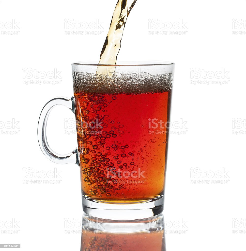 Glass of Tea royalty-free stock photo
