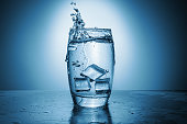 istock A glass of water, lemon, and ice 1293618957