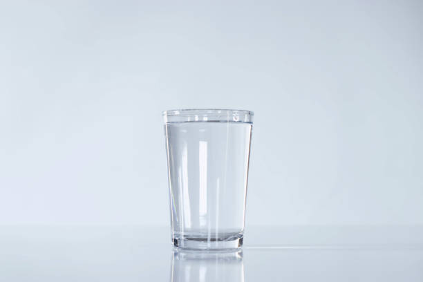 Glass of water - foto stock
