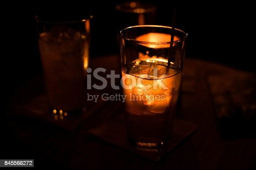 istock glass of whiskey at the bar 845566272