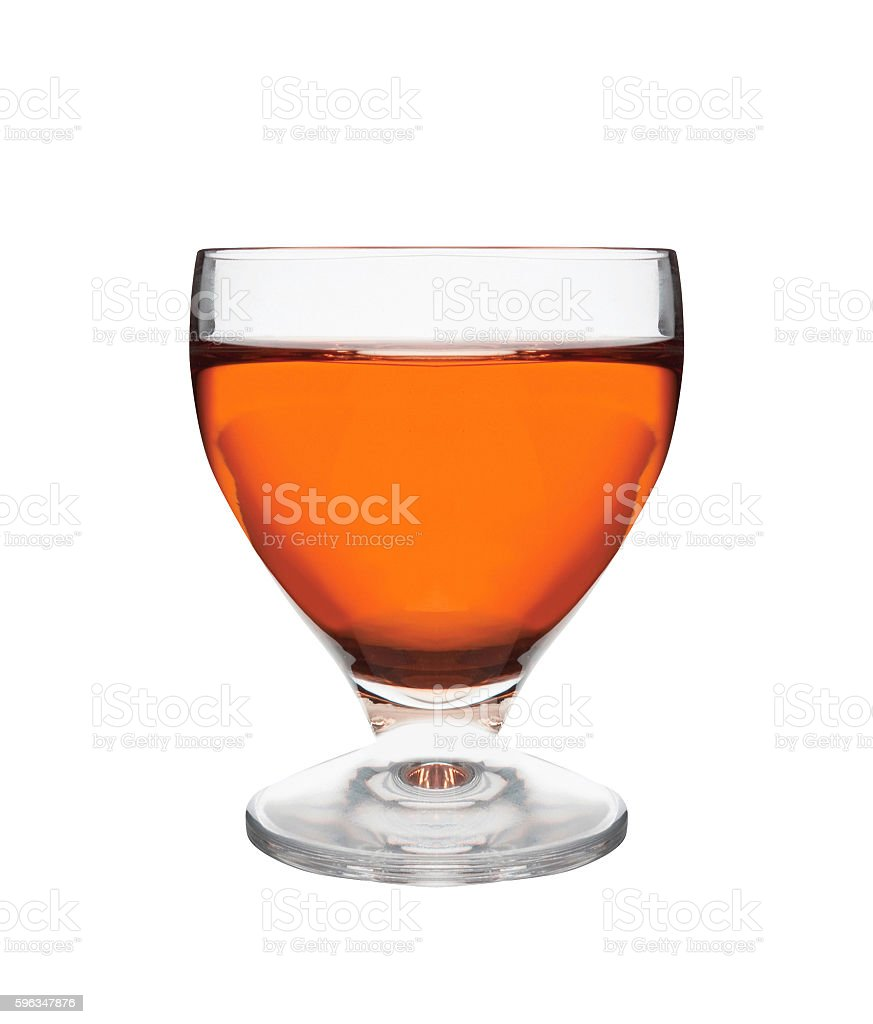 glass of whiskey isolated royalty-free stock photo