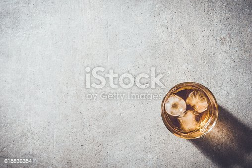 istock Glass of whiskey 615836354