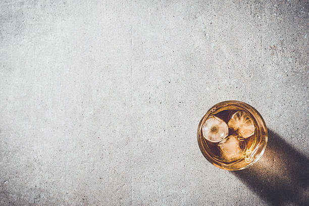 glass of whiskey - whiskey stock photos and pictures