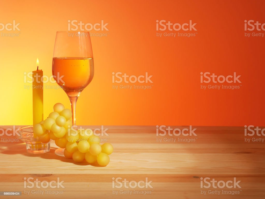 Glass of White Wine photo libre de droits