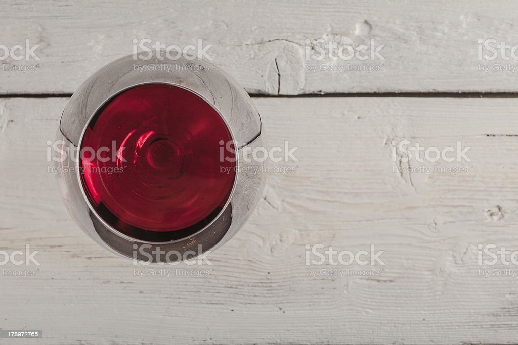 Glass of wine royalty-free stock photo
