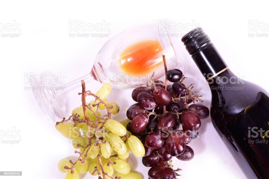 Glass of wine Lizenzfreies stock-foto