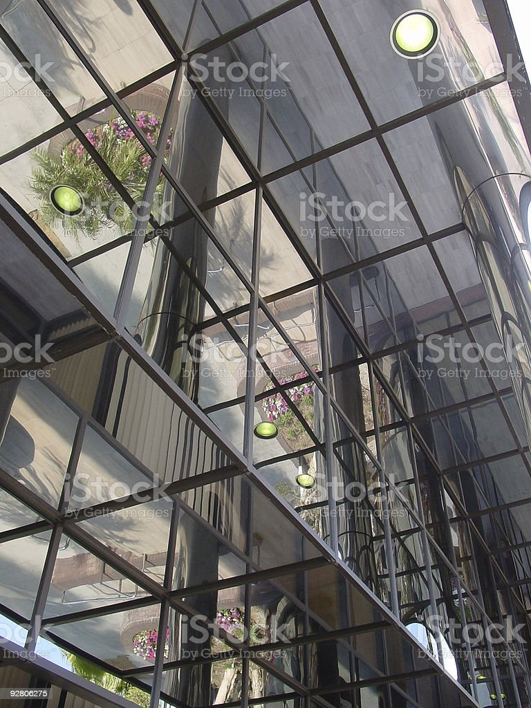 Glass Office Building 3 royalty-free stock photo